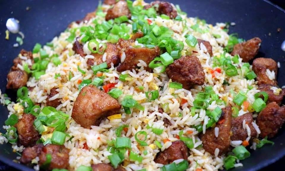 Salată de pui cu orez
