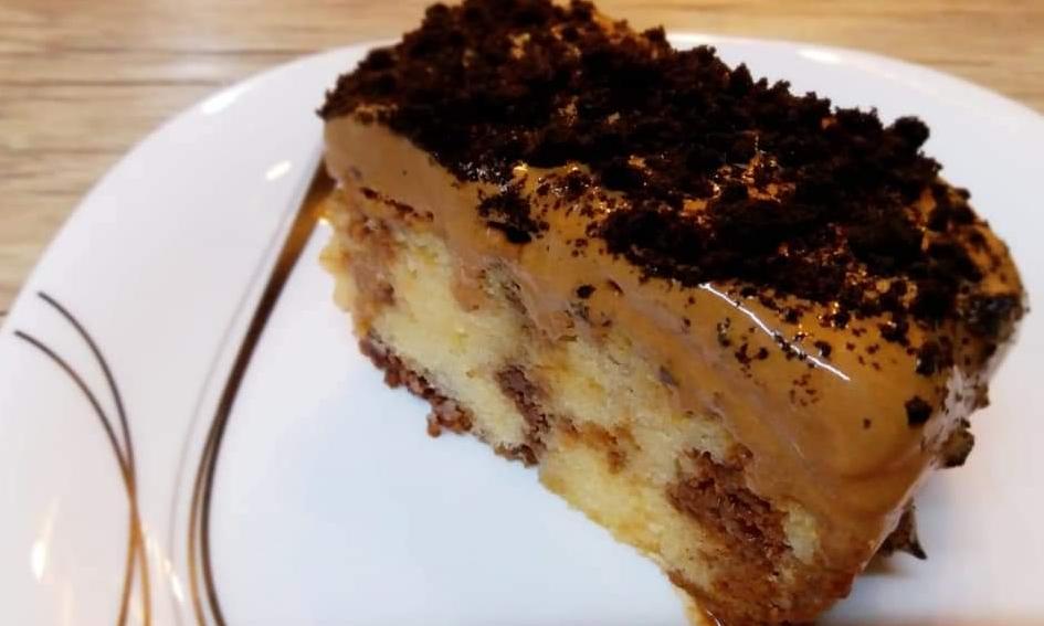 prajitura cu caramel si cacao
